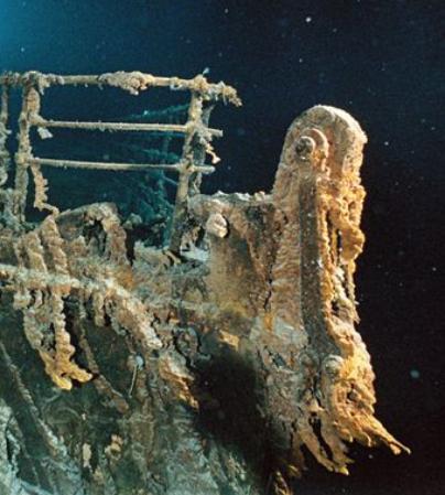 Titanic Wrack Leichen